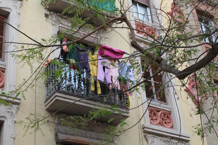 balcón barceloneta