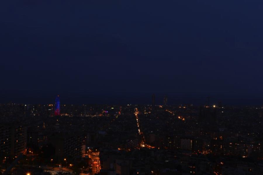 Barcelona desde los Bunkers de Carmel