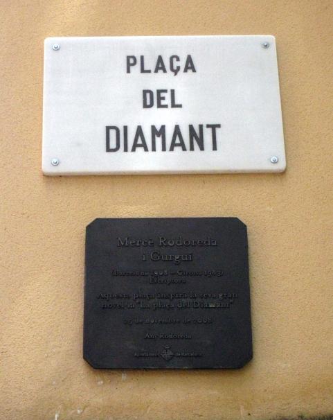003_Plaça_del_Diamant,_Mercè_Rodoreda